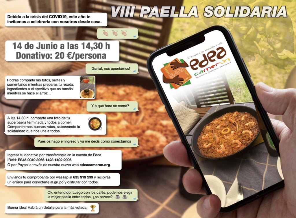 Paella solidaria