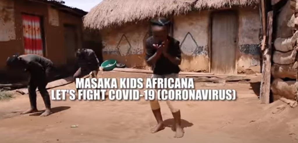 Masaka kids danzan contra el coronavirus